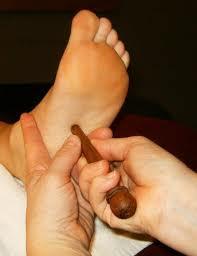 Thai foot massage training in OBUS